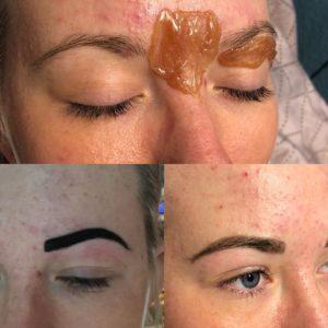 Henna Tattoo-Effekt