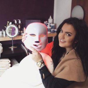 LED Maske Kosmetikstudio Nagelstudio Excellence Chemnitz