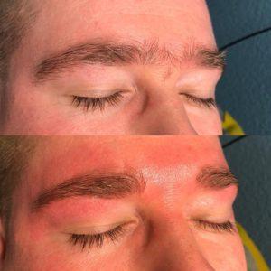 Waxing Augenbrauen *
